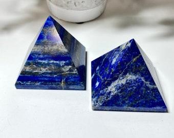 Lapis Lazuli Crystal Pyramids - Vision, Truth, Awareness