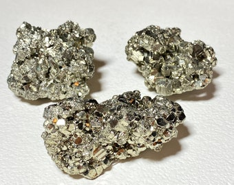 Raw Pyrite Crystal Clusters