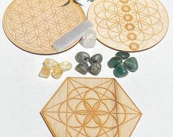 Crystal Grid Kit for Abundance