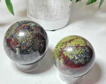 Dragon Stone Crystal Spheres - Connection, Courage
