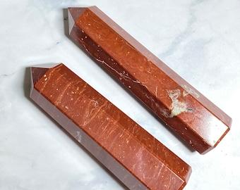 Red Jasper Crystal Points