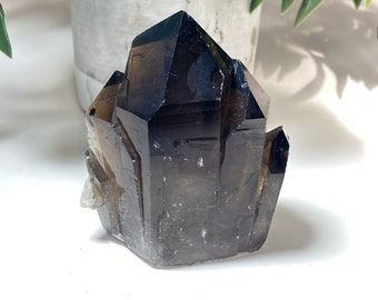 Smoky Quartz Crystal Raw Cluster - Grounding, Balance