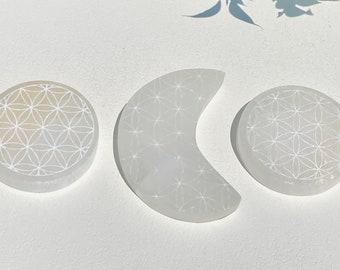 Selenite Crystal Plates