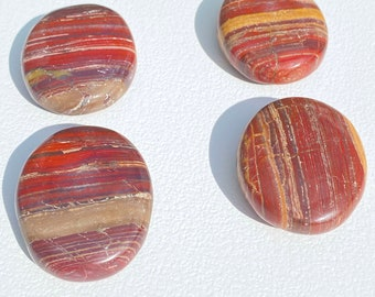 Polychrome Jasper Crystal Palm Stones