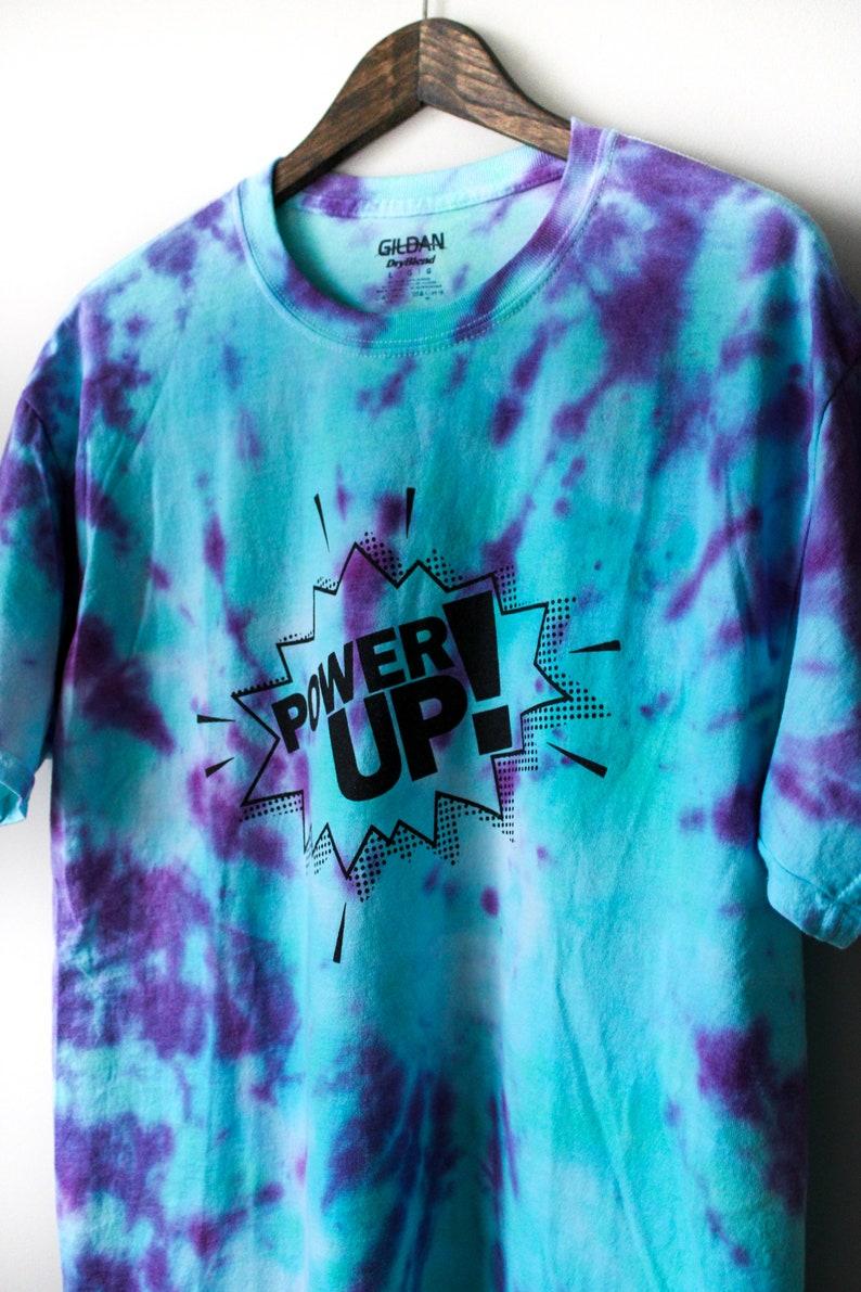 Power Up Tie-Dye Tee