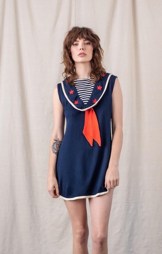 1960s Sailor Dress