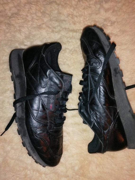 Retro Reebok sneaker sneakers black vintage size 4