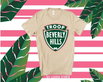 Troop Beverly Hills T Shirt  Phyllis Nefler 80s movies  we don\u2019t need patches