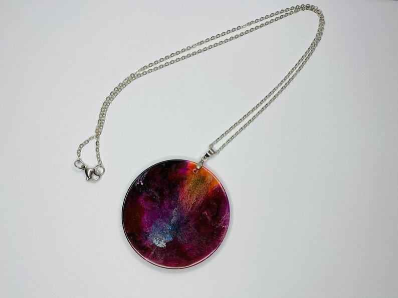accessori artigianato italiano fatto a mano Made in Italy jewelry petridish creazioni in resina Handmade necklace alcohol ink