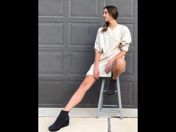 Krizia Wool Set, Tunic & Shorts, Size 12