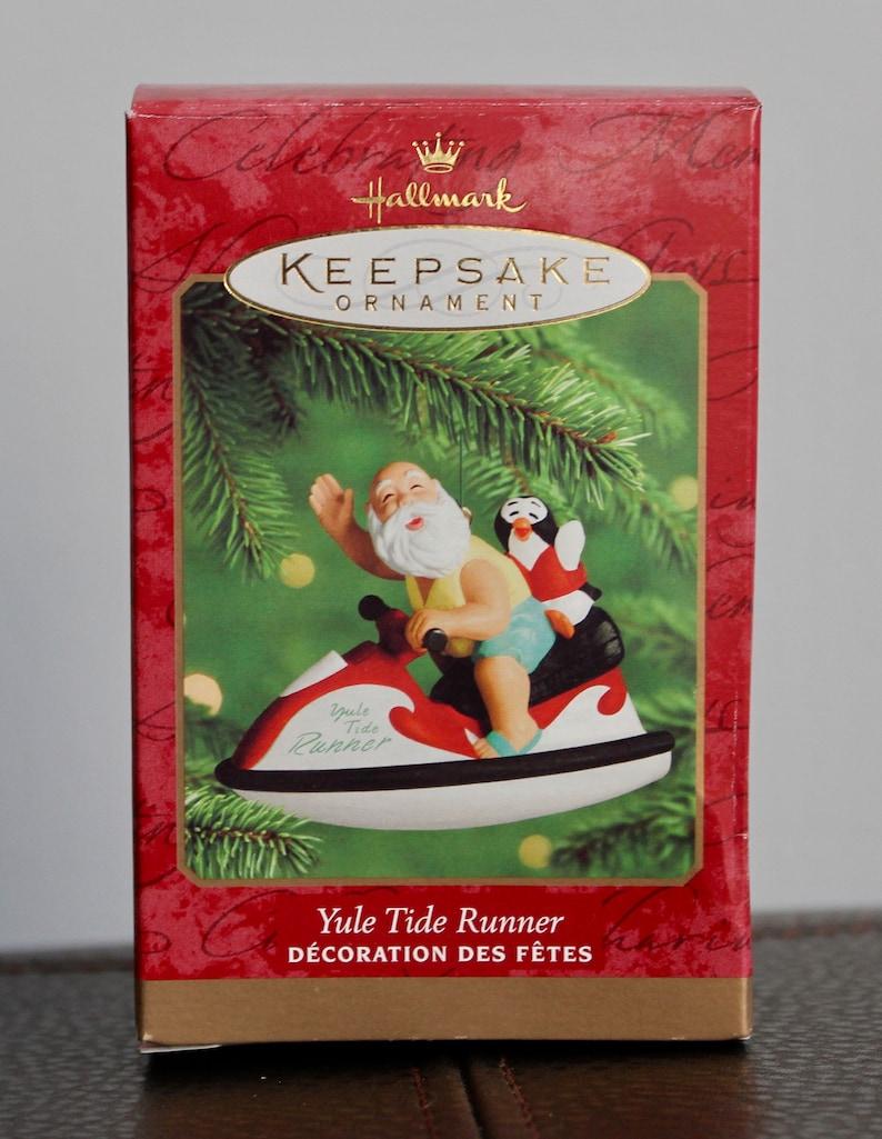 Hallmark Keepsake Ornament Yule Tide Runner
