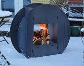 Circular Steel Fire Pit (Flat Pack)