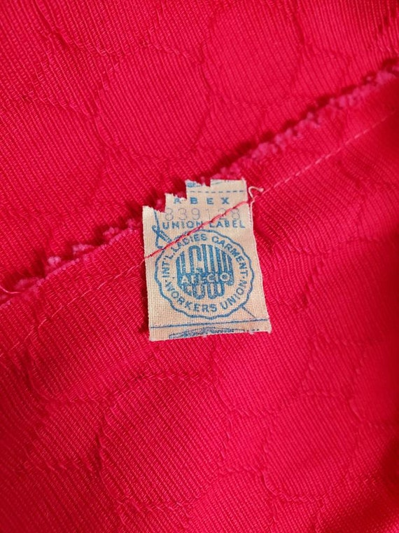Vintage 1950s Union-made tea dress - image 3