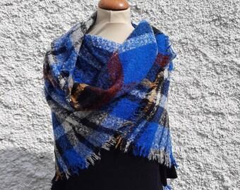 Wool/cashmere scarf/wrap
