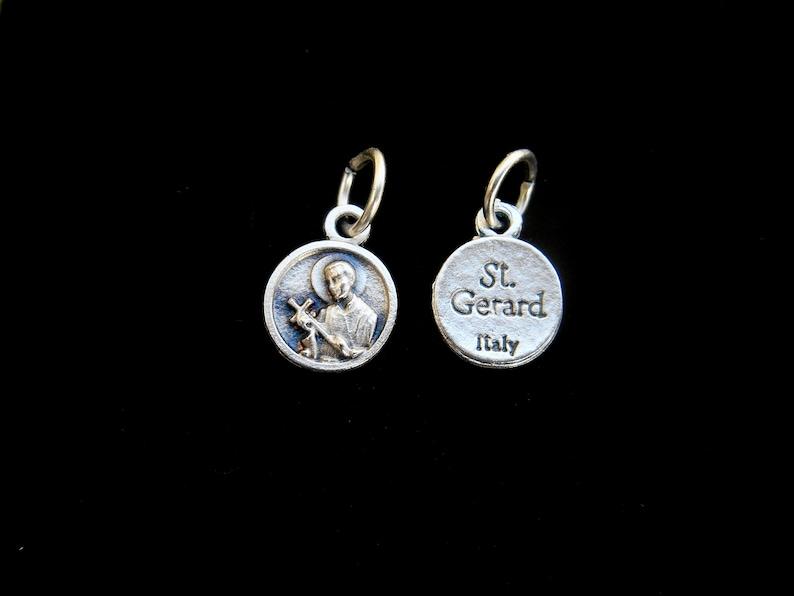 Childbirth Gerard NecklaceSt Gerard NecklaceCatholic NecklaceCatholic GiftsPatron Saint of Mothers TINY Saint GERARD-  St Pregnancy