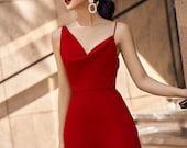 Ruffle One Shoulder Jumpsuit - Silk Jumpsuit - Jumpsuit for office - Jumpsuit for party - V neck jumsuit -Jumpsuit - Gift For Her