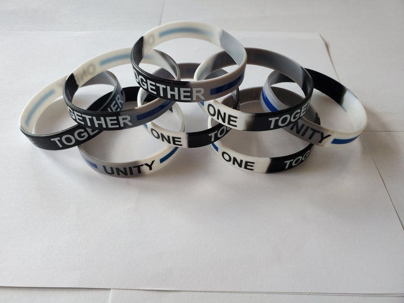UNITY band  Show you support unity and HOPE to bring us all image 1