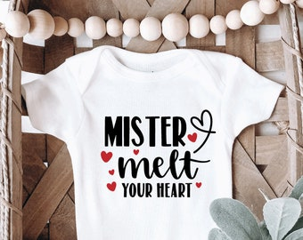 My Heart Beets For You OnesieValentine/'s Day OnesieBaby Valentine/'s Day Onesie
