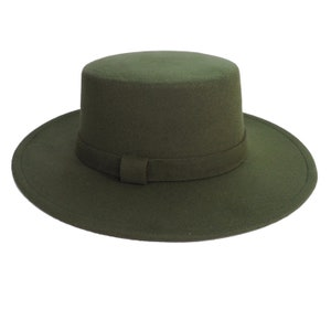 Melegari Porkpie Kurled fur felt Hat