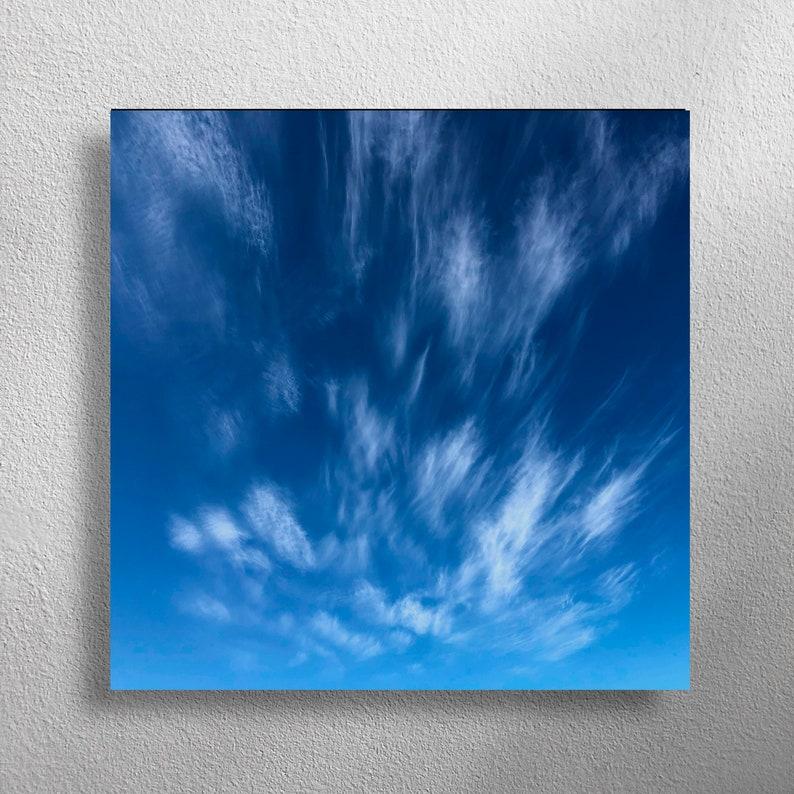 DEICHZEICHEN 40 x 40 cm square wall photo for living room image 0