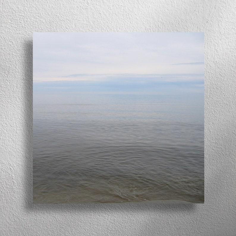 STILL MORE 60 x 60 cm square wall photo for living room image 0