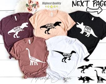 MAMAsaurus Shirt, DADasaurus,Mom and Dad Dinosaur Shirts,Dinosaur Birthday Shirts,Dino Birthday,Dinosaur Parents,SISTERasaurus,BROTHERsaurus