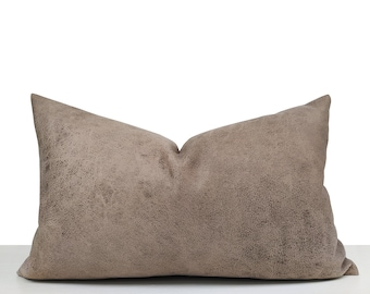 Suede Pillow Cover Etsy