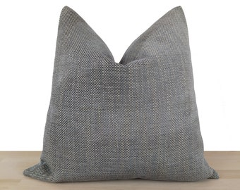 Neutral Pillow Cover, Euro Sham Cover, Decorative Cushion, Solid Pillow Cover, Textured and Thick Linen Fabric | All Sizes