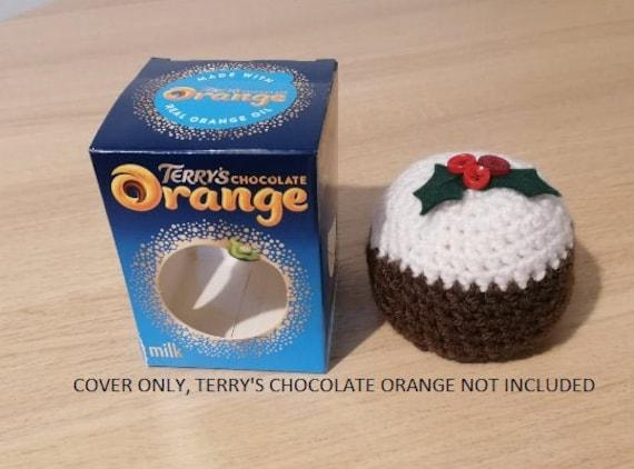 TERRYS CHOCOLATE ORANGE CHRISTMAS PUDDING COVERS handmade//crochet