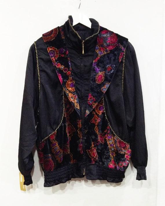 80s Vintage New Wave Lavon Jacket