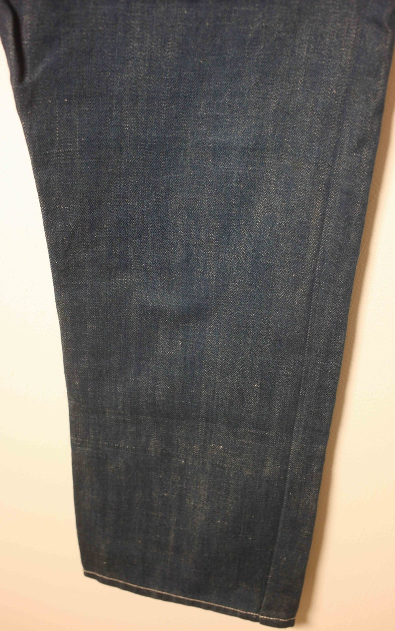 Michiko Koshino 07Y7Z-020 mens blue 100/% cotton jeans-Waist 34-used-excellent-free postage worldwide-2 to 14 working days delivery