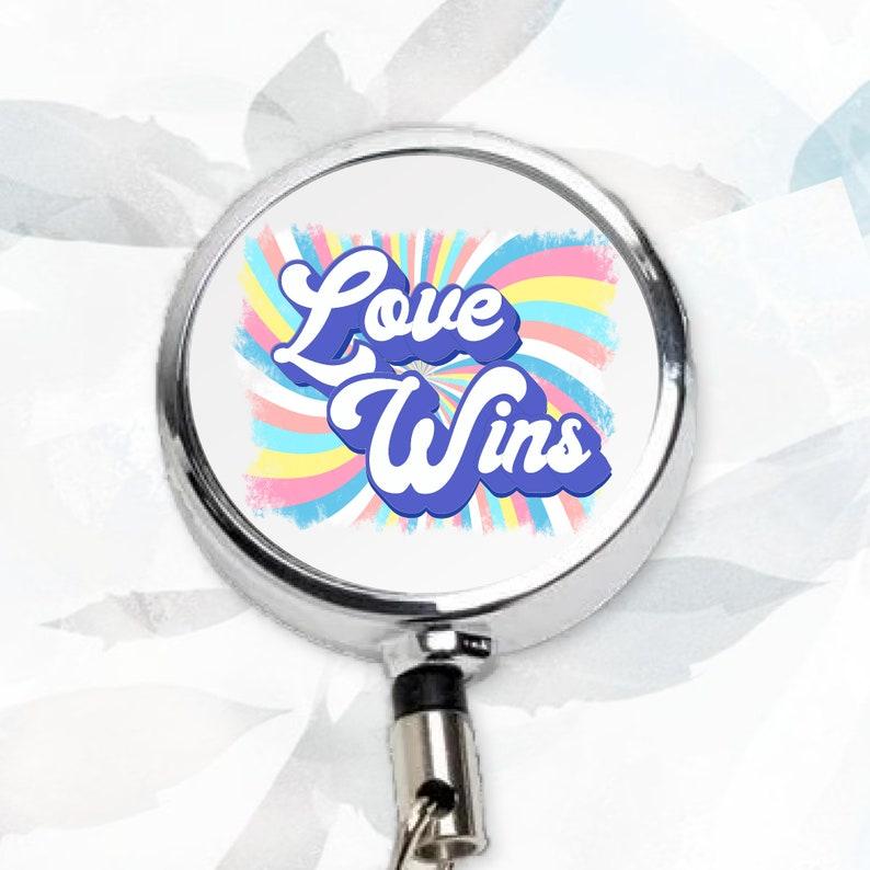 Teacher Badge Reel Nurse Badge Reel Retractable Badge Reel Love Wins Badge Reel Funny Badge Reel Funny Meme Badge Funny Nurse Badge