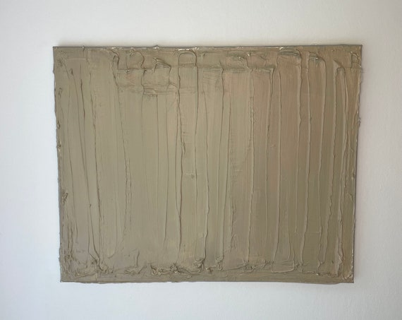 Fall Collection #2: Abstract Textured Art, Taupe Art, Original Painting, on Canvas, Abstract Painting