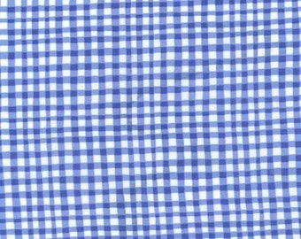 Marine Gingham Play from Michael Miller Fabrics Cotton Fabric