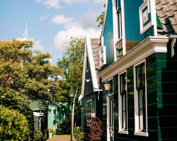 Amsterdam photography, Zaandam photography, Zaandam home print, Travel photo print, Fine Art Photography print, Home Decor, House Warming