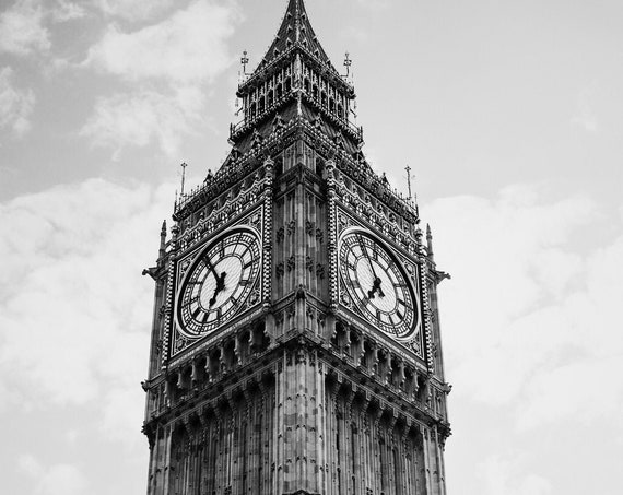 London photography, Big Ben photography, London City print, Travel photo print, Fine Art Photography print, Home Decor, House Warming