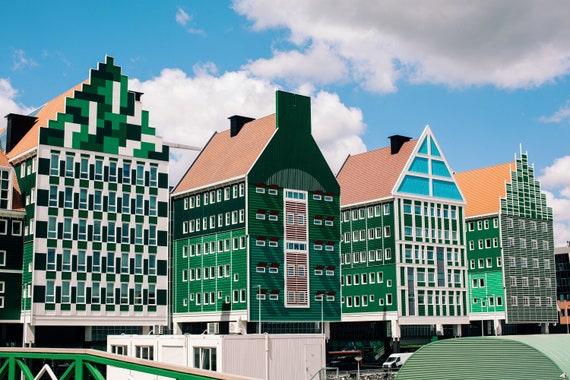 Amsterdam photography, Zaandam photography, Zaandam city print, Travel photo print, Fine Art Photography print, Home Decor, House Warming