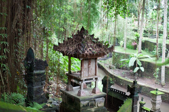 Bali photography, Ubud Bali photography, Travel photo print, Temple photo, Fine Art Photography print, Home Decor, House Warming