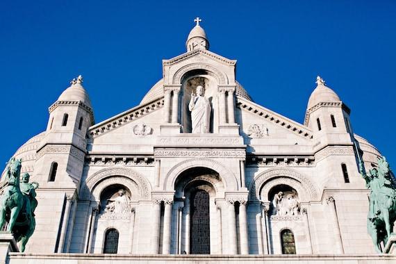 Paris photography, Sacre Coure photo, Montmartre print, Travel photo print, Fine Art Photography print, Home Decor, House Warming