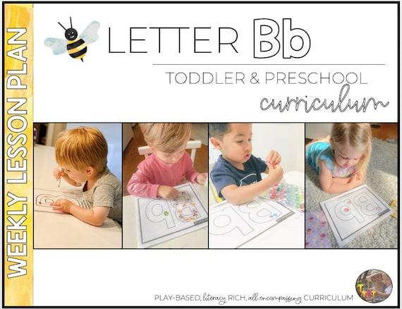 Letter B  Toddler & Preschool Curriculum  Tot School