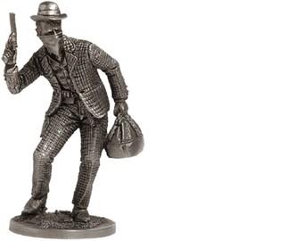 Tin soldier figure KANKAN Beauty Cabaret dancer Wild West 54 mm