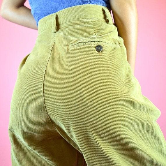 vintage 90s brown corduroy pants