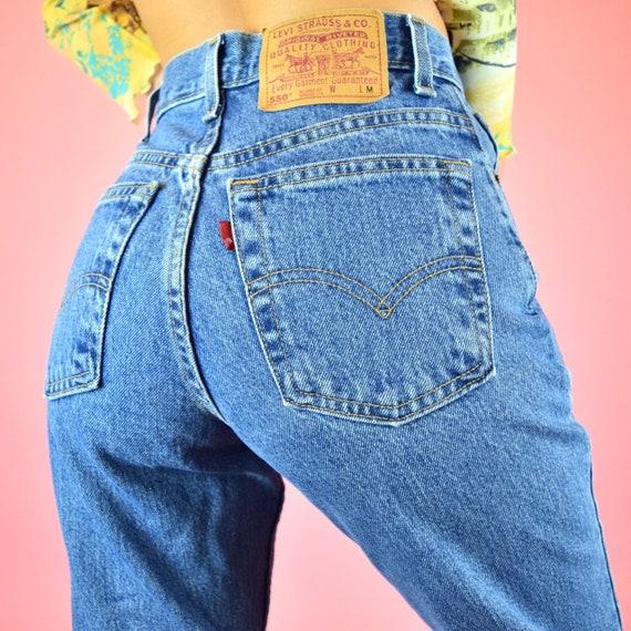vintage 90s 550 Levi's mom jeans