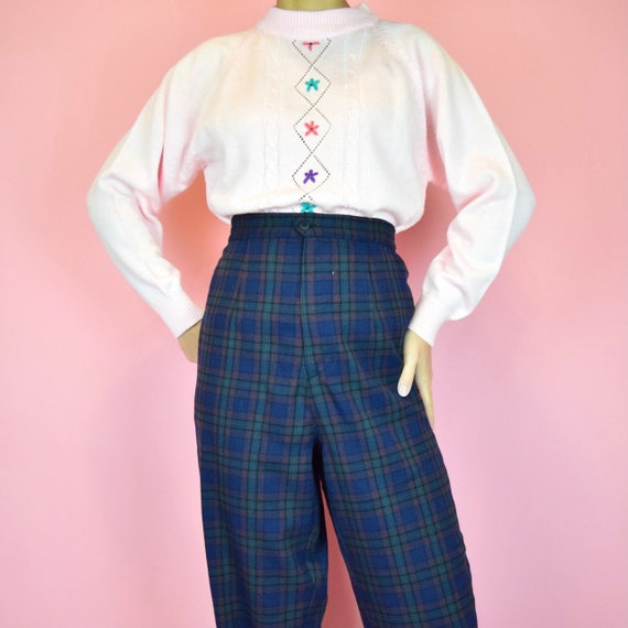 vintage 90s pastel pink sweater