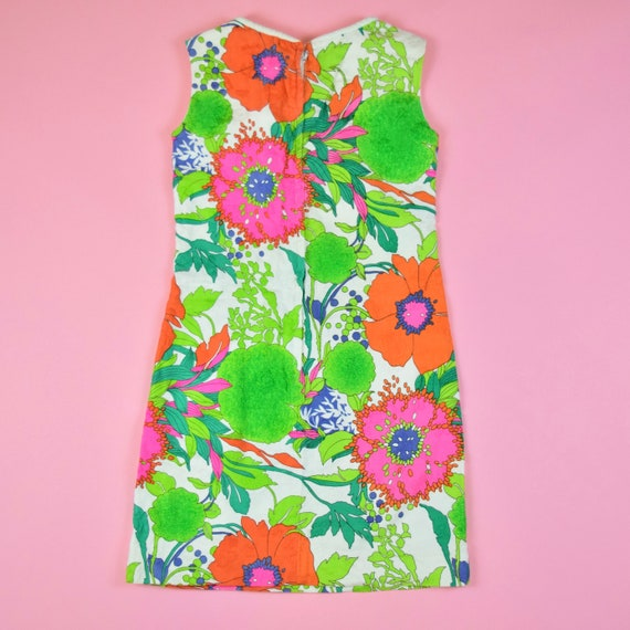 vintage 60s mod floral dress - image 6