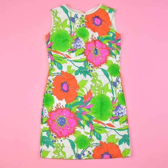 vintage 60s mod floral dress - image 5