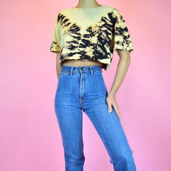 vintage 70s disco jeans - image 3
