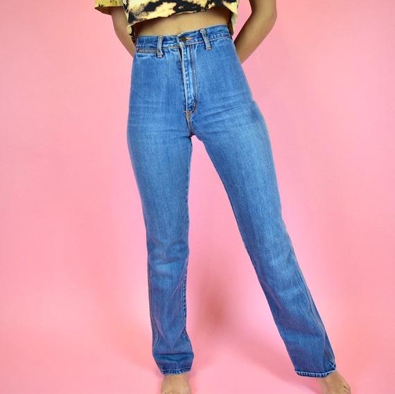 vintage 70s disco jeans - image 4