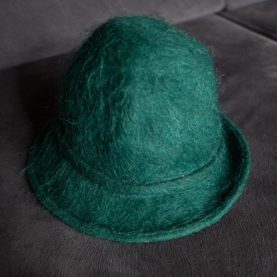 Elegant Vintage Wool Hat, Second Hand Winter Hat,V
