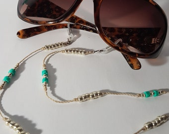 Coco lunettes new Gwen gallagher eye-wear; protective curved metallic face form with soft branches insertions Parisian style and soft look
